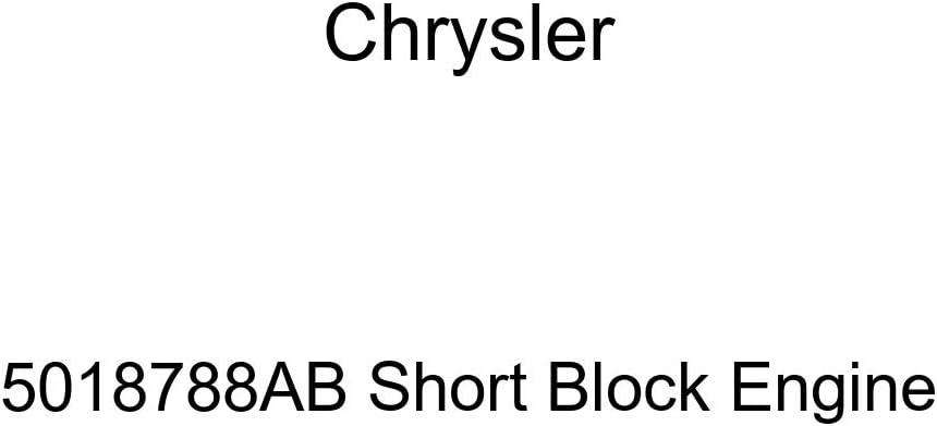 Genuine Chrysler Product 5018788AB Short Engine Max 55% OFF Block