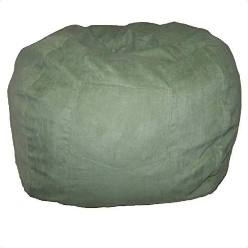 Weikeya Bolsa de Basura Verde, con Lona Reutilizable Residuos de jardín Reutilizables Fuertes y Resistentes para Uso a Largo Plazo.