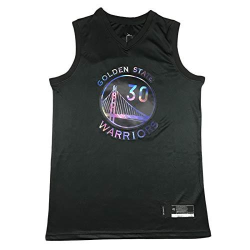 XMYP Camiseta de baloncesto para hombre, de Golden State Warriors Stephen Curry Jersey, uniforme de baloncesto Swingman Jersey sin mangas, chaleco deportivo Rainbow Edition-M