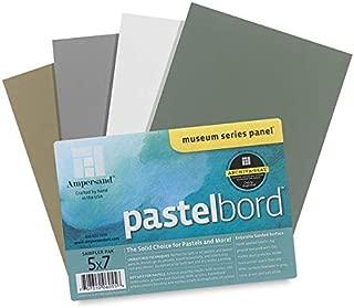 Ampersand PB405 Pastelbord Assortment - Pack of 4