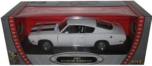 1 18 Yat Ming Plymouth Barracuda 1969 Grün 92179