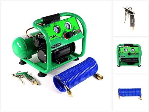 Prebena compleet pakket blaaspistool met standaard sproeier (Z170.80B) + spiraalslang 7,5 m (Z160.11) + compressor VITAS 45