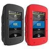 TUSITA [2-Pack] Cas pour Garmin Edge 520 Plus - Housse de Protection en Silicone -...