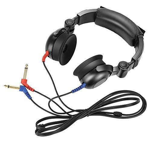 Tester dell'udito - Audiometro Audiometrico Audiometro Conduzione dell'aria Audiometro Perdita dell'udito simulata Screening Cuffie Audiometro dell'aria per test dell'udito per tutti gli importati Aud