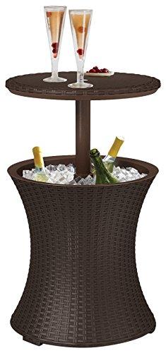 Keter Partytisch Pacific Cool Bar, braun