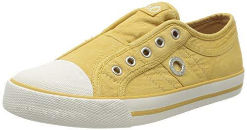 s.Oliver Damen 5-5-24635-24 Slip On Sneaker, Gelb (Yellow 600), 41 EU
