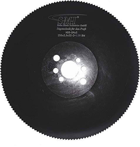 Metall-Kreissägeblatt Hss DMO5 250 x 2,0 x 32 mm...