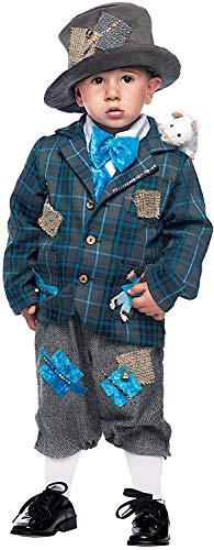 VENEZIANO Costume di Carnevale da Piccolo VAGABONDO Vestito per Neonato Bambino 0-3 Anni Travestimento Halloween Cosplay Festa Party 50773 Taglia 3