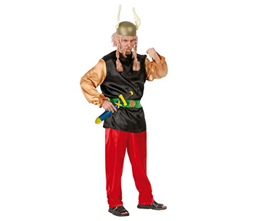 Disfraz de Asterix, para Adulto, Talla L 52-54