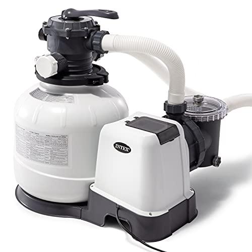 Intex - 2800 Gph Sand Filter Pump W/GFCI (110-120 Volt)