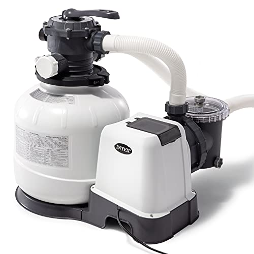 Intex - 2800 Gph Sand Filter Pump W/GFCI (110-120...