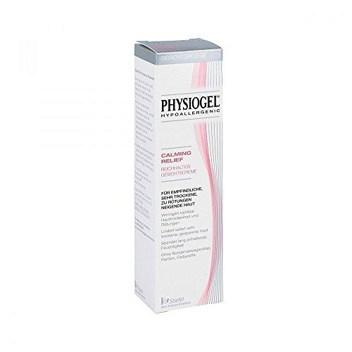 PHYSIOGEL Calming Relief Reichhaltige Gesichtscreme, hypoallergen - Beruhigt sehr trockene Haut, 40 ml