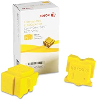 Brand New Xerox Corporation - Xerox Solid Ink Stick - Yellow - Solid Ink - 4400 Page - 2 / Box