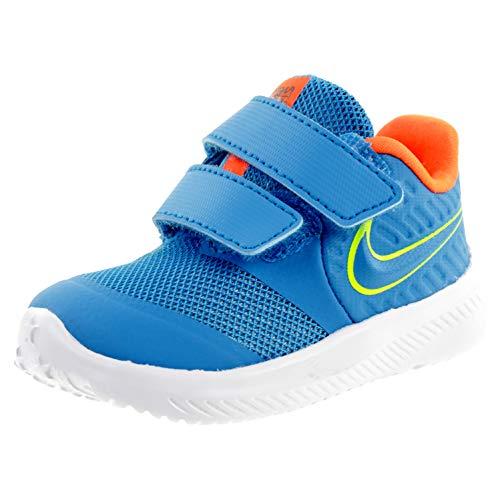 Nike Star Runner 2, Zapatillas Unisex bebé, Azul, 17 EU