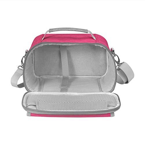 Bolsa de mano portátil compatible con Cricut Joy, estuche de transporte con almacenamiento de accesorios para Cricut Joy