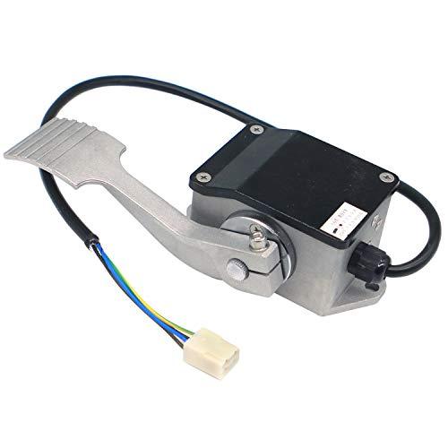 Pie del acelerador EFP-005 0-5K EFP713-0502 para Curtis Ev Golf Cart Carretilla elevadora Eléctrica Turismo Coche Acelerador Motor Pedal Acelerador Pedal Acelerador