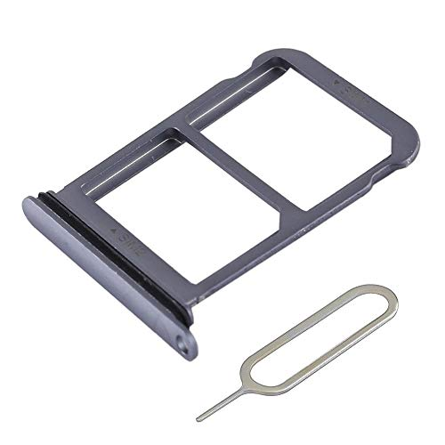 MMOBIEL Vassio Supporto per Carta Dual SIM Compatibile con Huawei P20 5.8 inch (Blu) incl Sim Pin