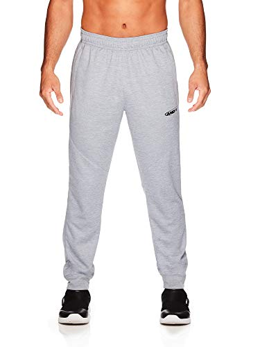 AND1 Herren Trikot-Jogginghose – Basketball Laufen & Joggen Sweatpants mit Taschen - Grau - X-Groß