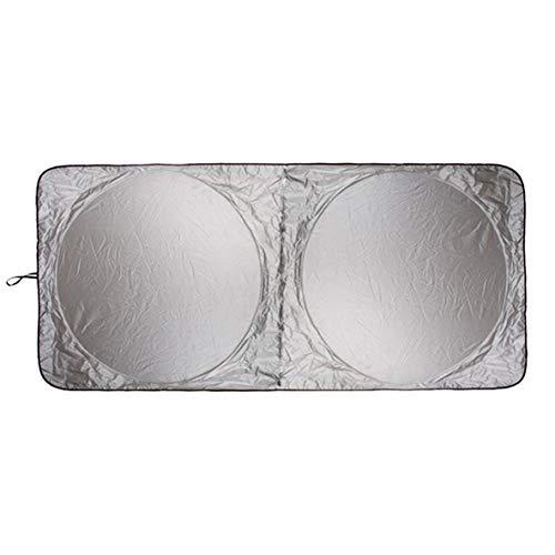 Rouku 190 x 90 cm Auto Sonnenschutz Sonnenschutz Windschutzscheibe Front Heckscheibe Film Visierabdeckung UV-Schutz Reflektor Auto-Styling