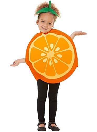 Funidelia | Disfraz de Naranja para nio y nia Talla 3-6 aos Fruta, Comida - Naranja