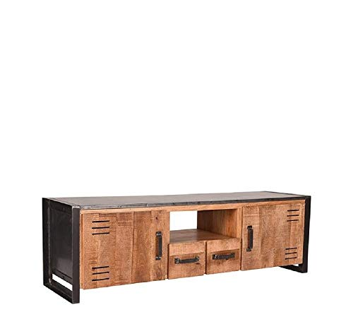LABEL51 Lock Tv-meubel - Naturel - Mangohout - 160 cm