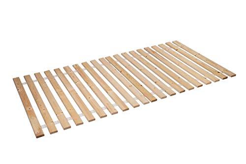 AZZAP Rollrost 90x200cm Rolllattenrost Lattenrost Bettrost Holzlatten 20 Latten Rost