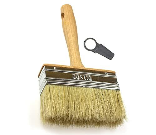 Pennello da imbianchino con setole naturali, Natural Bristle Hair, 30x110