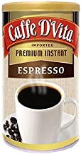 Caffe D'Vita Imported Instant Espresso, 3 Ounce Canister
