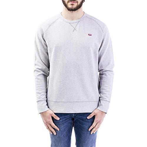 Levi's Original HM Icon Crew Sweat-Shirt, Medium Grey Heather (3), XL Homme