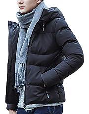 冬服 メンズ 防寒 コート 中綿 ジャケット 長袖 ビジネス フード付き 防風 防寒 アウター 暖かい 秋 冬
