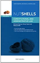 Nutshell Constitutional and Administrative Law