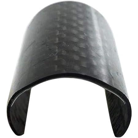 Trigo - Cadena de Fibra de Carbono para Bicicleta Plegable, diseño Triangular, Marco Protector Adhesivo para Bicicleta Frame Protector