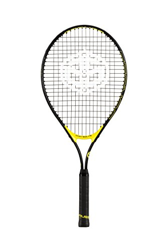 Duruss Chrysolite Raqueta de Tenis, Unisex niños, Amarillo, 21