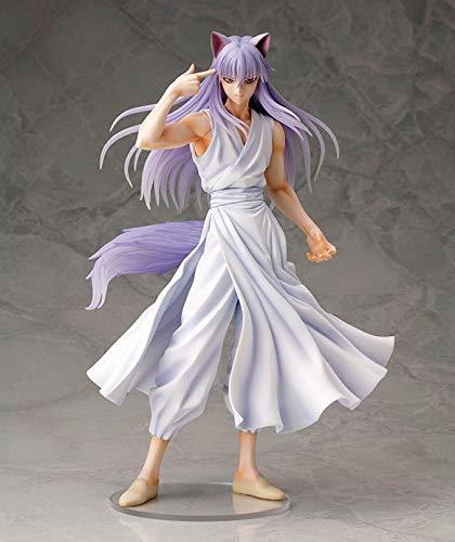 DMCMX Yuyu Hakusho Figur Kurama Anime Spiel Charakter Modell Farbe Boxed Statische Charakter Desktop Dekoration Höhe ca. 23,5 cm Chassis Zimmer Dekoration