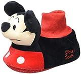 Cerdá 3D Mickey, Zapatillas de Estar por casa Niño, Negro (Negro C02), 29/30 EU