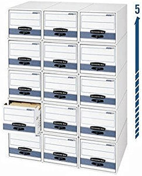 STOR DRAWER STEEL PLUS Files Letter Size 12 1 2x10 3 8x23 1 4 White 6 Carton FEL00311 Category Filing Boxes