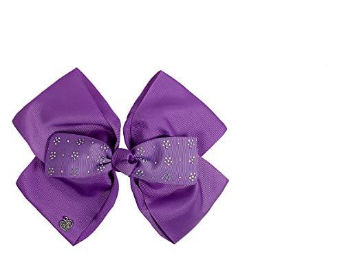 Haarschleife Mädchen Bow Groß Pink Haar Schleifen XXL Haarclip Haarklammer Haarspange von ALSINO, Variante wählen:HSch-002 lila