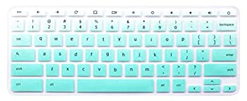 Keyboard Skin Compatible with Acer Chromebook Premium R11 11.6 CB5-132T CB3-132 CB3-131 Acer Chromebook R 13 CB5-312T Acer Chromebook 14 CB3-431 CP5-471 Acer Chromebook 15 CB3-531  Ombre Mint