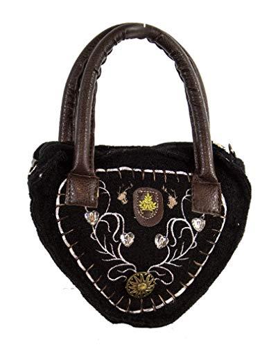 Horror-Shop dames tyrolienne sac noir Deluxe