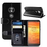 Xyamzhnn HNZZ Téléphone Case R64 Texture Repliable Housse en Cuir Flip Horizontal for Motorola...