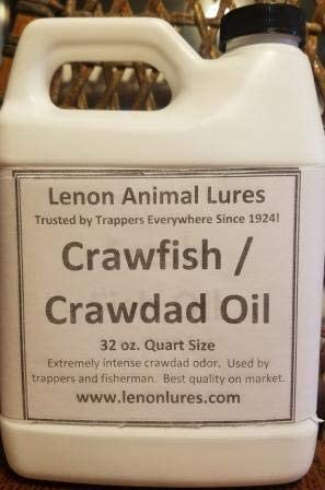 Lenon's Crawfish Crawdad Oil Great Mink Raccoon Attractant 日本正規代理店品 for 現品