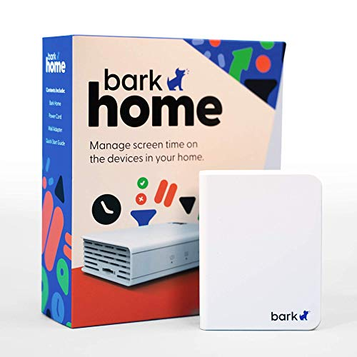 Bark Home — Parental Controls for Wi-Fi | Manage Screen Time, Block Apps, and Filter Websites for Kids | Phones, Tablets, Gaming Consoles, and More