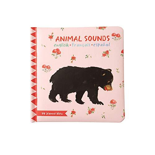 Manhattan Toy - 217460 - Livre de Bébé - Animaux Sons - Multicolore - 6 Mois et Plus - Version Anglaise