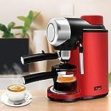 GaoF Cafetera Profesional, máquina de café expreso semiautomática, Bomba de presión de 5 Bares y espumador de Leche, Puede Hacer café con Leche, Moca y Capuchino