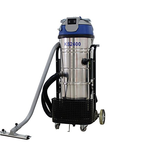 Wotefusi Industrial Dust Vacuum Cleaner 110V 2400W 100L Commercial Floor Dust Vacuum Cleaner