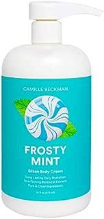 Camille Beckman Silken Body Cream, Frosty Mint, 16 Ounce