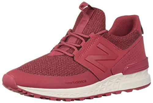 New Balance Women's Fresh Foam 574 Sport V1 Sneaker, Earth Red/Earth Red, 8.5 B US