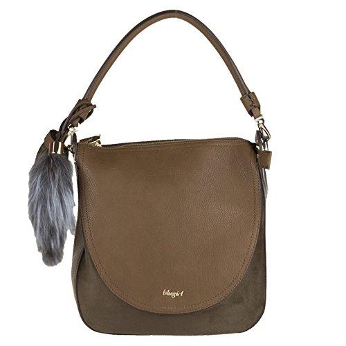 Blugirl - Bolso al hombro para mujer marrón