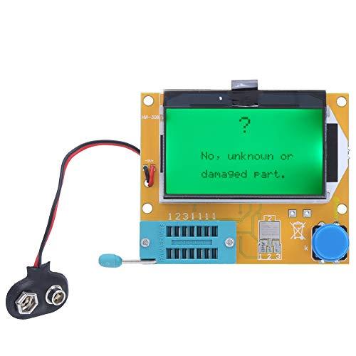 Testeur de condensateur de transistor, Testeur de composants électroniques, Testeur de contrôle automatique ESR Mètres de test LCR-T4