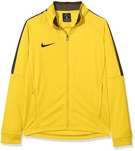 NIKE Kids Dry Academy18 Football Jacket Jacket, Unisex niños, black/anthracite/(white), S